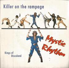 disco 45 GIRI Mystic RHYTHM KILLER ON THE RAMPAGE - KING OF DISCOLAND