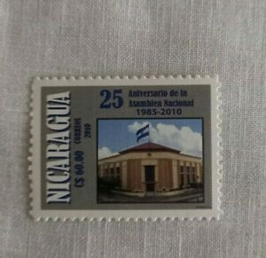 Nicaragua 2010 Architecture, Flag, National Assembly,  MNH unused stamp