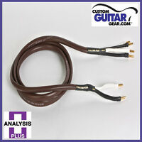 Analysis Plus Chocolate Theater 4-Wire Cable, Bi-Wire Configuration, Length 6ft