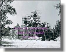 Vintage Disneyland 1955 Sleeping Beauty Castle Construction 8x10 photo Hub