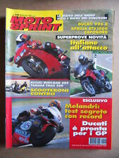 MOTOSPRINT n°12  2001       [Q23] SUZUKI BURGMAN 400 YAMAHA TMAX 500