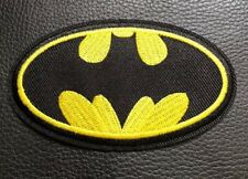 Batman Logo Badge Patch B2G1F Embroidered Iron Sew On Dress Costume T Shirt Bag