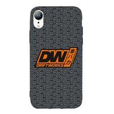 Driftworks Premium Rubber Black Phone Case - iPhone XR -