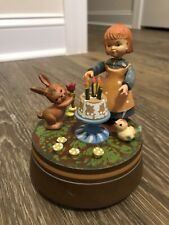"Anri ""Happy Birthday� Music Box - Made In Italy"