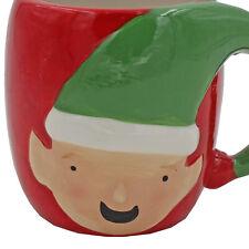 Christmas Elf Face Mug Novelty Ceramic Cup