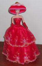 "4 pc. Clothing & Accessories fit 11"" Slim waist Silkstone Barbie Dolls"