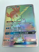 Keldeo GX RAINBOW SECRET HYPER RARE 240/236 Pokemon SM Unified Minds NM 2019