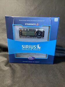 New Sirius Starmate 4 ST4TK1 Sirius Car & Home Satellite Radio Receiver w/ Kit