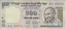 India Banknote P92d 500 Rupees Sig 88, inset C, VF+