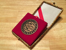 Decorative Chinese Feng Shui Compass Jewelery Box Coin Size Dragon Engraving