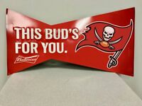 Tampa Bay Buccaneers Poster Retro Metal Budweiser Bud Light Home Decor Tim Sign