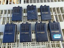 Lot of 7 Motorola Minitor III SV Fire Pager Radio Pager