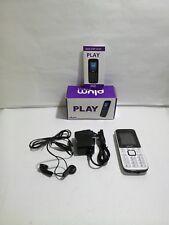 Plum Unlocked Cell Phone GSM Worldwide Dual Sim Camera FM Radio