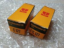2 x Vintage Kodacolor II Film C127 Not Opened - still sealed.