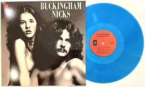 Buckingham Nicks - Buckinghams Nicks Limited Edition Blue Vinyl LP New MINT