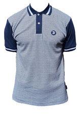 Polos de hombre de manga corta color principal azul