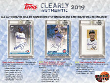 OAKLAND ATHLETICS A'S 2019 Topps Clearly Authentic Baseball 1BOX Break