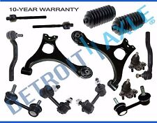 2006-2011 Honda Civic Lower Control Arm Ball Joint Sway Bar TieRod Kit Non-Si