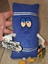"Brand New South Park Talking Towelie Plush 10"" tall with all tags 2002 Near Mint"