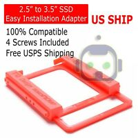 "2.5"" to 3.5"" Bay SSD Flex Hard Drive HDD Mounting Bracket Adapter Dock / Trays"
