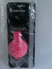 New HYDRO FLASK Lid Wide Mouth 2 Straws Water Bottle 18 20 32 40 64oz Flamingo