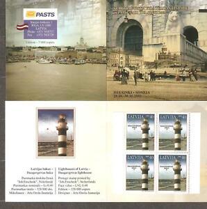 Latvia: mint  booklet, lighthouse, 2005, Mi#645D, MNH.