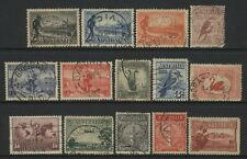 Australia Collection 14 Early Commemorative Stamps Used