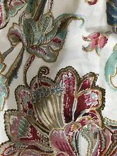 RARE Classic Ralph Lauren Twin Bedskirt Antigua Floral 2 ~NEW~