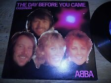 """ABBA """"THE DAY BEFORE YOU CAME/CASSANDRA"""" 1982 NCB SWEDISH EDITION POLAR RECORDS*"""