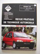 revue technique automobile RTA neuve  PEUGEOT 106 essence