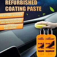 Automotive Interior Auto & Leather Renovated Coating Paste Maintenance Agent Hot