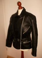 vintage LOUIS Motorradjacke Lederjacke biker vtg motorcycle oldschool jacket 42