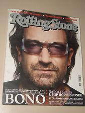 ROLLINGSTONE=2006=MAGAZINE ISSUE=BONO VOX U2=THE EDGE=DAVID SYLVIAN=DAVE EGGERS