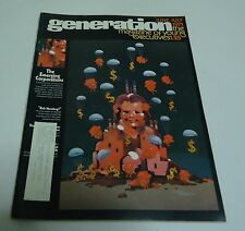 Generation Magazine For Young Executives Business Future June - July 1971