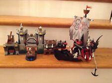 Lego Castle Fantasy Era 7029 Skeleton Ship Attack 100% Complete No Box & Manuals