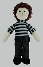CUTE NEW RED / GINGER HAIRED TRADITIONAL STYLE BOY SOFT / RAG DOLL-  FAIR TRADE