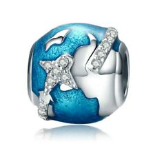 I Love Travel & The World Charms Pandora 925 Sterling Silver
