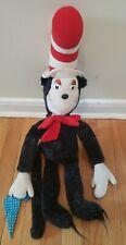 "VTG 1983 Dr. Seuss Cat In The Hat 24"" Plush Stuffed Animal"
