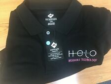 "Wor(l)d GN 32 shirts, 6 hats embroidered with HELO logo & ""Wearable Technology"