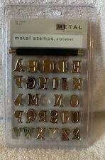 Walnut Hollow Metal Stamps, Alphabet 416372