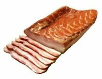 1kg  Smoked Country Cured Bacon with Rib Meat !! US SELEER !!