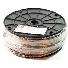 stainless steel cable 250 feet x 7/32""