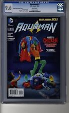 Aquaman (2011) # 12 - CGC 9.6 White Pages - Robot Chicken Cover - Black Manta