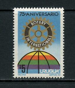 U604  Uruguay  1980   Rotary  1v.    MNH