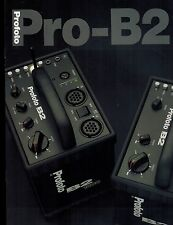 PROFOTO PRO-B2 CATALOG/BROCHURE (ORIGINAL PRINT/not copies)