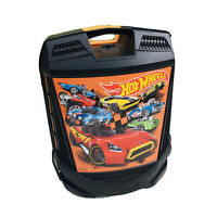 Hot Wheels Carry Case Storage With Handle And Wheels- Holds 100 CARS!!