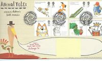GB - FIRST DAY COVER - FDC - COMMEMS -2006- ANIMAL TALES - Pmk TH