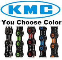 KMC X10SL DLC ASSORTED COLORS 10 Speed Bike Chain fit SRAM Shimano Road CX