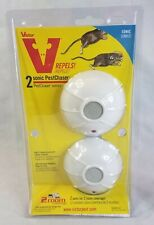 Victor Sonic PestChaser 2 Room Coverage  Rodent Repellant Plug In New