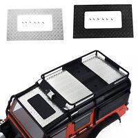 Metall Anti-Rutsch Platte Shell Dekoration für DJ TRX4 Land Rover Defender RC